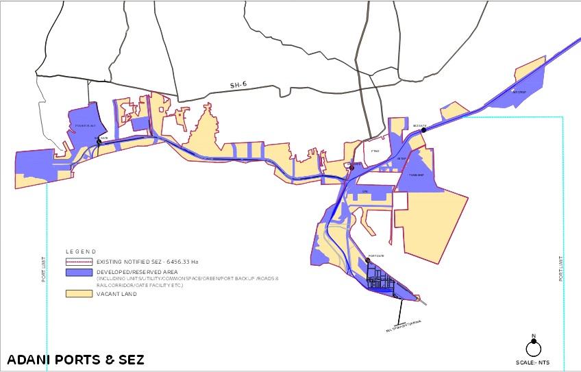 Apsez notified mp sez kandla special economic zone